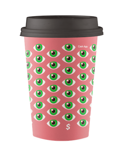 Cash App Boost Coffe Cup