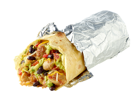 Cash App Boost Burrito